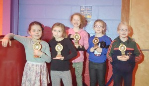 Stars U9 Award Winners 2015
