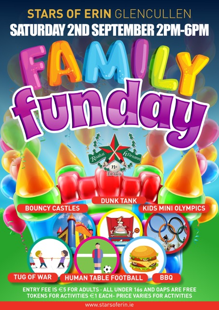 Family Fun Day Stars Of Erin Gaa